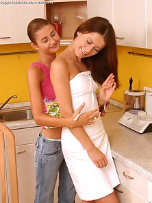 Bettina and Marcella Licking and Fingering in Doggystyle to Getting Satisfaction
