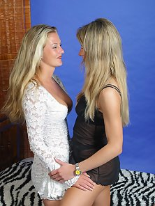 Fantastic Looking Babes Feel Hunger for Lesbian Act Together