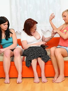 Hottest Teens Sveta and Mindy Playing With Clits with Their Nasty Teacher