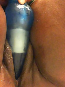Toys of pleasure - using dildo on my pussy