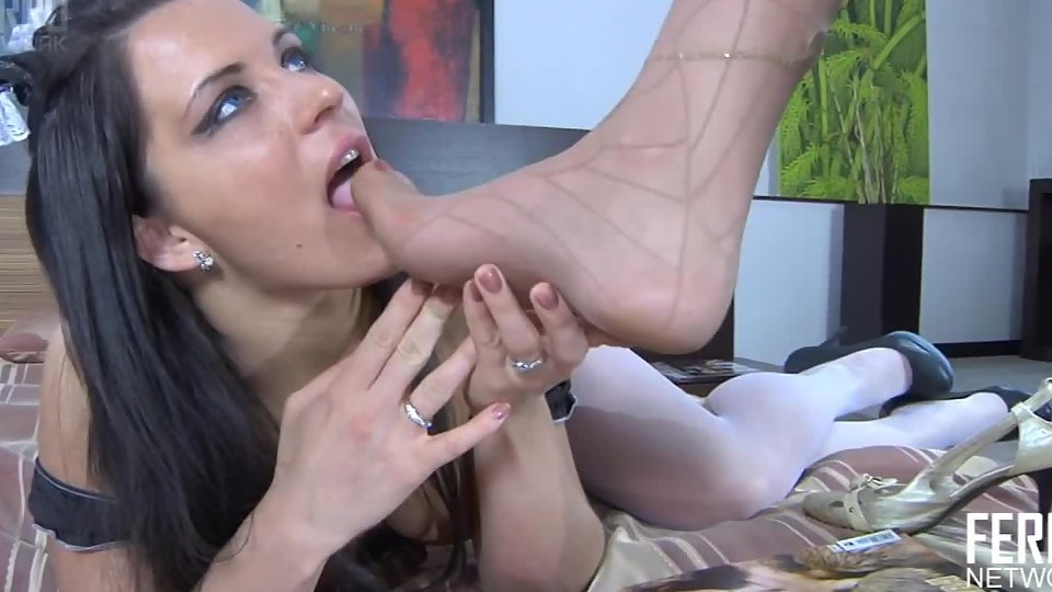Forced Lesbian Foot Sucking