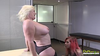 Tammy Claire comes for an interview and then does a sexy dance